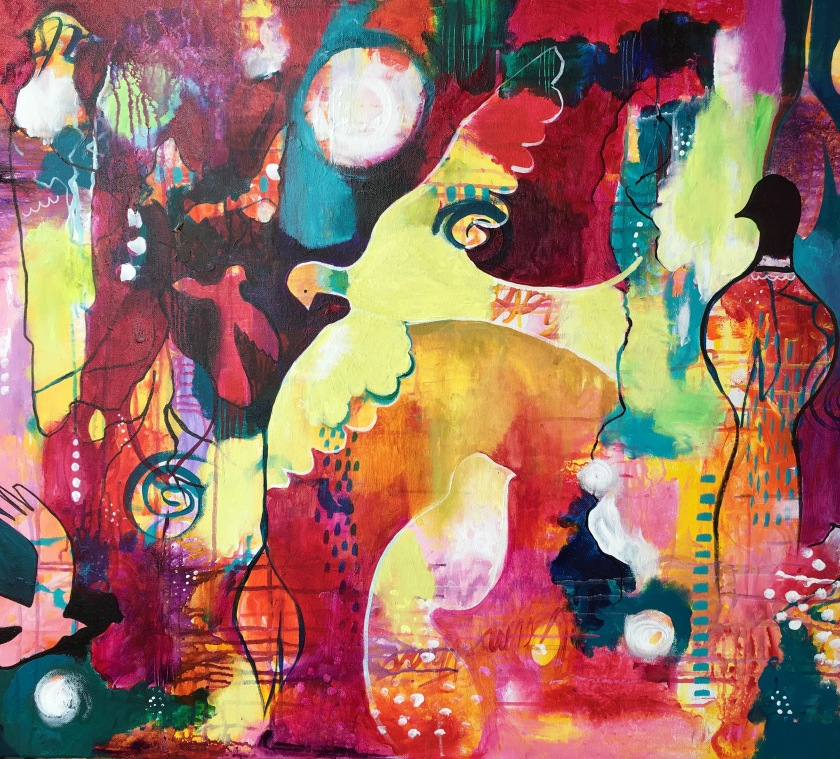 Living Free_Clare Wassermann_40x30 inches
