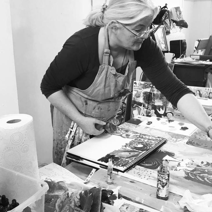 Clare Wassermann Open Studio