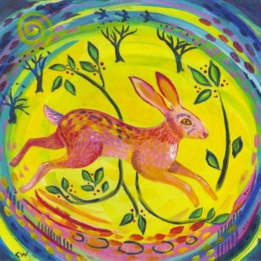 Spring Hare (jpg scan)