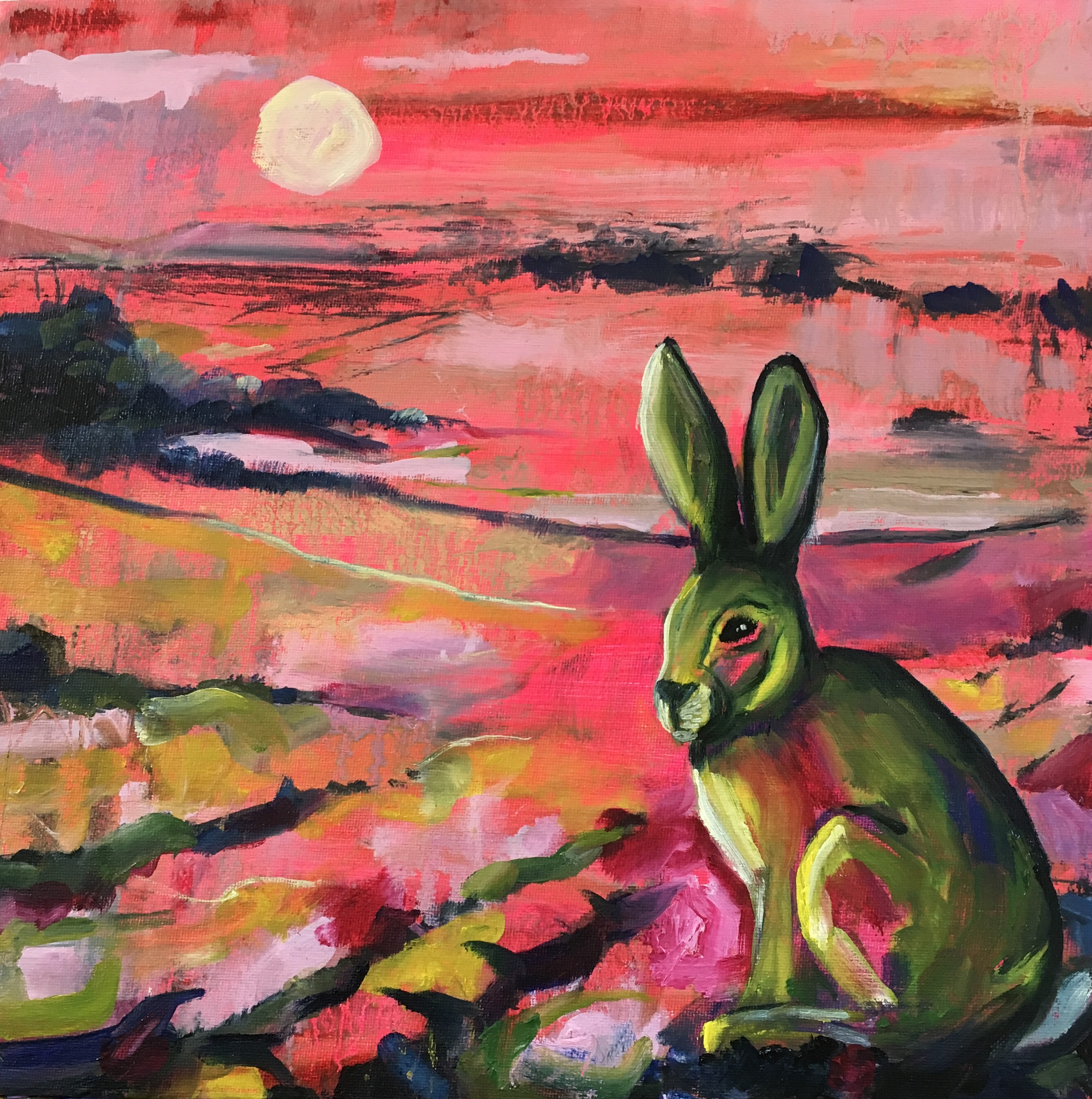 Autumn-hare-clare-wassermann