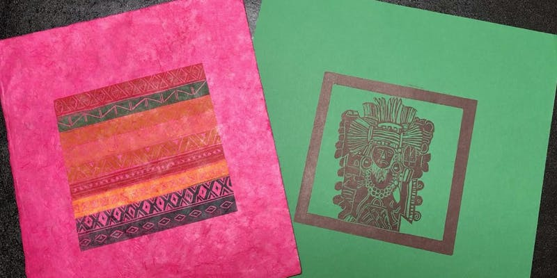 Linda Neville Mexican printmaking workshop image